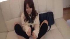 Sockjob Cum Shot With Japanese High School ♡
