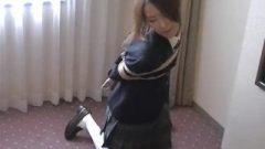 Japanese School-Girl Bondage 1