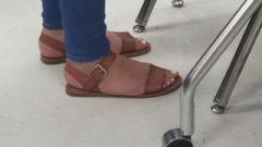 Highschool Candid Feet (Lavina)