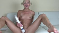 Flirtatious Blonde Morgan Rain Pussy Squirting After School For Daddy Roleplay