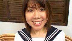 Ai Kazumi In School Uniform Blows Penis And Gets – More At Hotajp.com