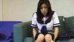Azusa Miyanaga In School Uniform Blows Banana And – More At Hotajp.com