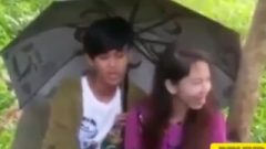 Asian Brief Encounter Outside Of College ( Asian Outdoor Sex ) Public Blow-Job