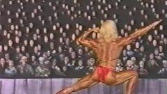 Old University Slut Bodybuilding Challenge