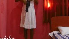 Sri Lankan College Chick Destroyed With College Uniform ඉස්කෝලෙ ඇදුමෙන්ම මෝල් වෙල
