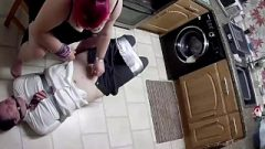 Dude Duct Taped In University Uniform With Polishing – Version 2