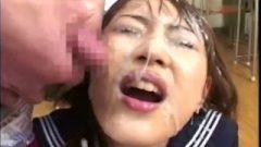 School-Girl Masturbation Bukkake – Bbdw35-1
