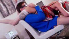 Blow Me Pov – School Girl Vyxen Steel Eating Tool On Teacher's Tool