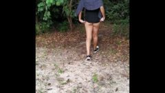 College Whore Strolling In Public Park With Mini Dress – Miss Cat Latina
