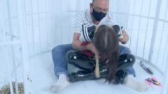 Fx-tube Com The Pvc Fetish Jk School-Girl Bondage Orgasm Scene 2