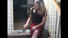 Old College Full Length Of The Gorgeous Tabitha Smoking Provocative